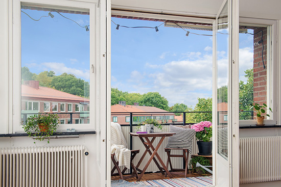 小清新简约装饰瑞典公寓