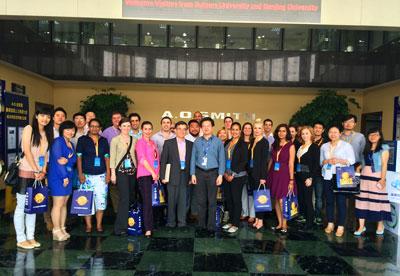 美国罗格斯大学mba代表团赴南京大学商学院交流访问