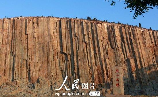 高清:青岛即墨市神奇的马山石林