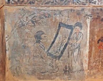 甘泉发现金代画像砖墓群