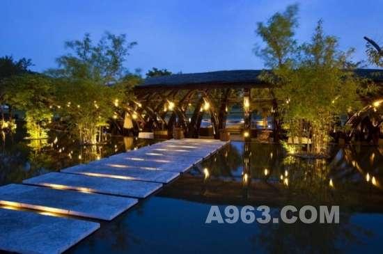 用竹子架起的空间——越南河内的竹结构建筑设计