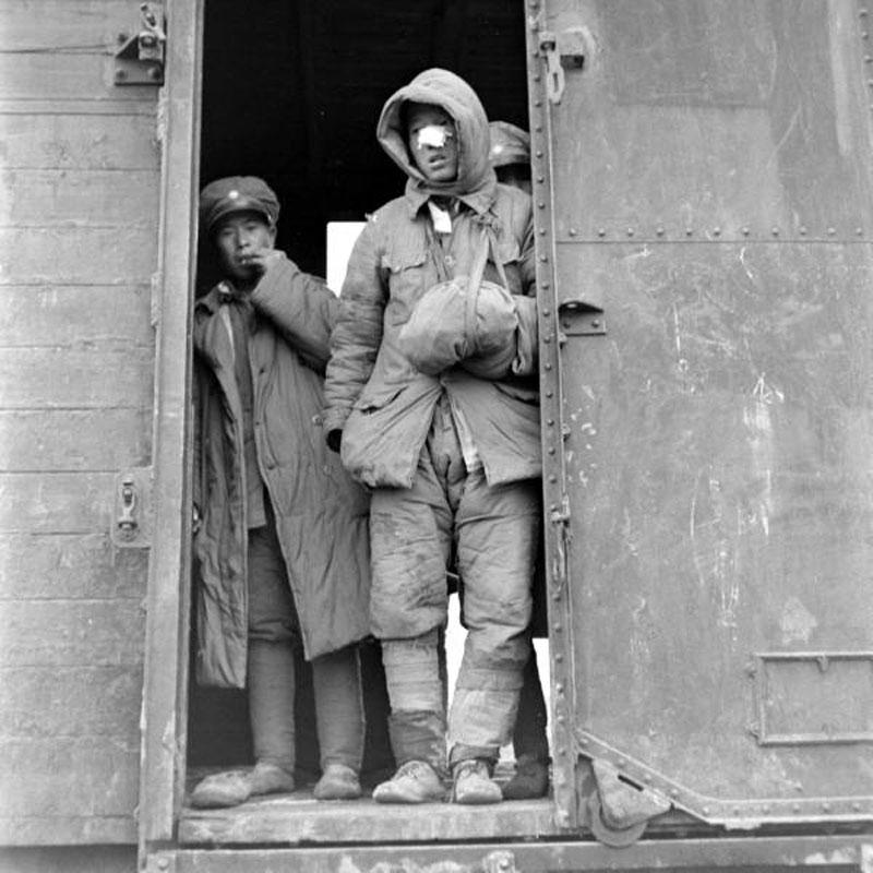 美国杂志《LIFE》在1947年2月时拍摄的国民党军,摄影师为Mark Kauffman。