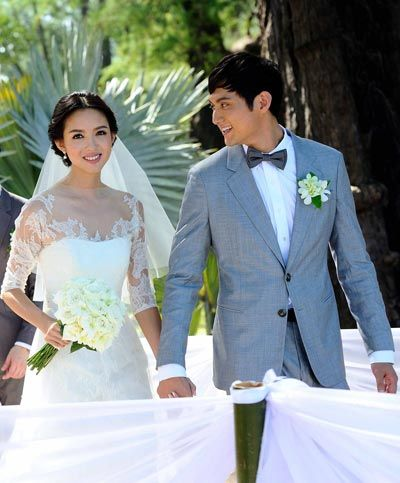 世界小姐张梓琳泰国秘婚 与男方相恋三年(图)