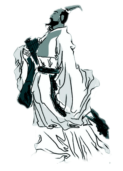 汉与唐代时期的屈原形象