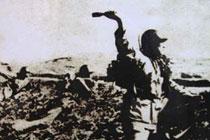 国军在衡阳内线奋力抗击日军
