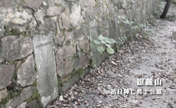 岳麓山 抗日阵亡将士公墓