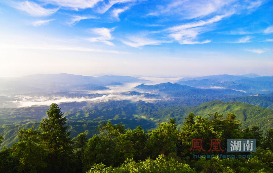 汝城九龙江国家森林公园。