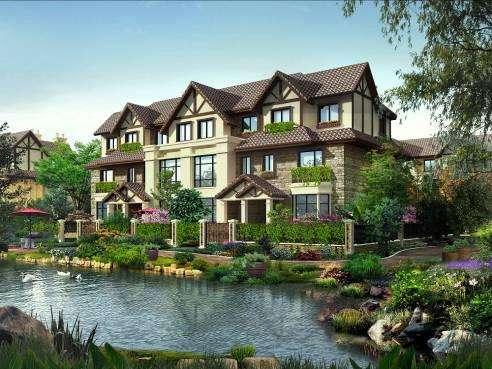 位于龙凤新城核心的生态温泉别墅小镇——燕云小镇,距北京