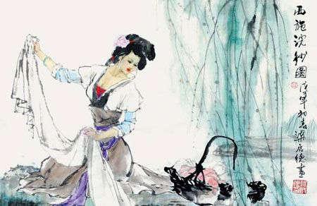 西施是中国古代四大美女之首图片