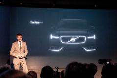 全新XC90细节设计图曝光 2014年底推出