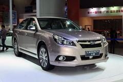 新款斯巴鲁力狮广州车展发布 外观小改