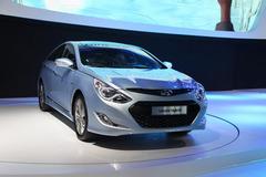 现代索纳塔混动广州车展发布 电池升级