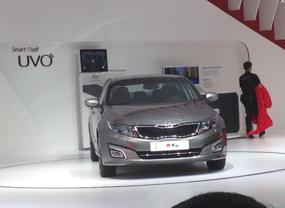 新款起亚K5或12月5日上市 新增2.0T车型
