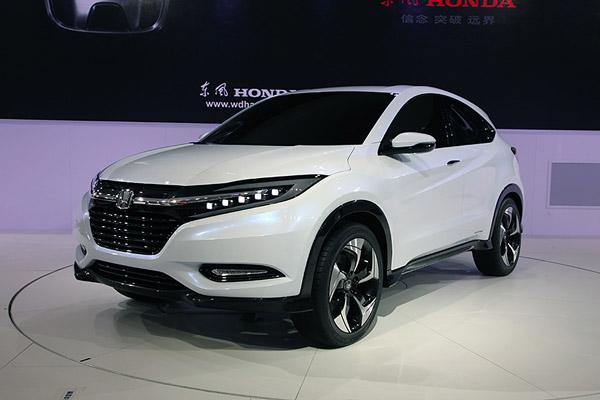 广州车展首发合资/进口SUV 本田SUV领衔
