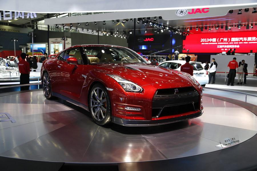2015款GT-R广州车展上市 售158-168万起