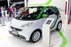 smart电动版车型广州车展上市 售23.5万