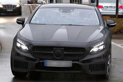 奔驰S级Coupe轿跑谍照曝光 2014年发布