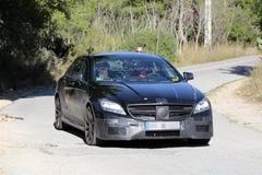 奔驰新款CLS63 AMG谍照曝光 明年底推出