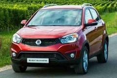 双龙推2014款Korando SUV车型 15万起售