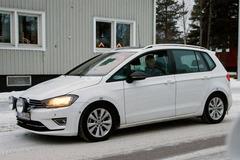 高尔夫Sportvan谍照曝光 明年正式上市