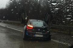 宝马i8测试车德出事故 损失超20万欧元