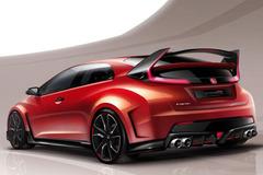 曝思域Type-R概念车设计图 日内瓦首发
