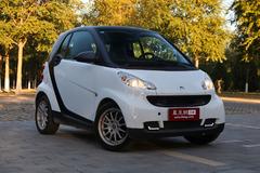 smart fortwo被评为中国最受欢迎微型车
