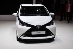 全新丰田Aygo日内瓦车展发布 造型动感