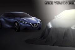 日产新概念车预告图发布 将北京车展首发