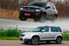 Jeep指南者vs斯柯达Yeti 不甘落入城市