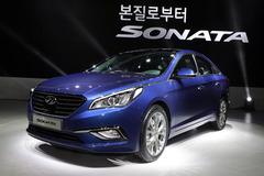2015款现代索纳塔发布 整车升级幅度大