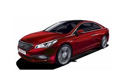 全新一代索纳塔Coupe版假想图 轿跑风格