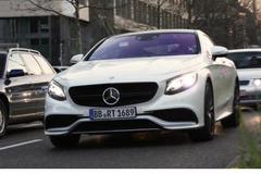 全新奔驰S63 AMG Coupe曝光 或9月上市