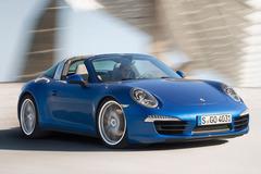 全新保时捷911 Targa官图发布 造型经典