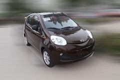 全新QQ EV电动版车型谍照 有望年内上市