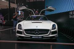 2014北京车展:奔驰SLS AMG黑色系列上市