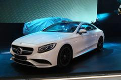 2014北京车展:奔驰S63 AMG Coupe亮相