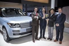路虎揽胜被评2014年Autocar亚洲年度车