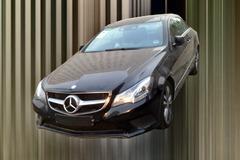 奔驰E200 Coupe低配版 新车下半年上市