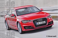 奥迪新款A6假想图曝光 巴黎车展首发