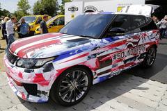 路虎推揽胜运动版SVR原型车 明年上市