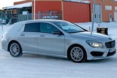 奔驰确认量产CLA猎装车 售价28.2万元