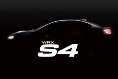 斯巴鲁WRX S4预告图发布 8月25日首发
