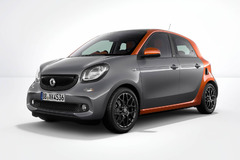 smart forfour Edition 1 车型发布