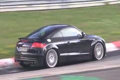 全新奥迪TT-RS路试曝光 2015年底发布