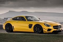 曝奔驰AMG GT黑色系列假想图 动力升级