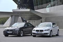 宝马在德发布改款5系轿车 动力更强劲
