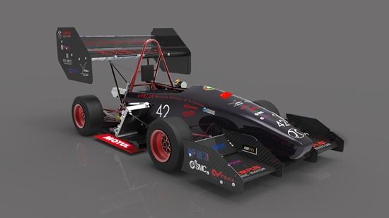 2014北京理工大学方程式赛车正式发布
