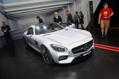 奔驰AMG GT巴黎亮相 或2015年3月发售