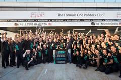 F1俄罗斯站奔驰首次加冕年度总冠军